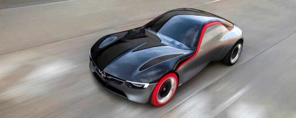 Opel zeigt mit einem heißen Frontmittelmotor-Konzeptauto den ideellen Nachfolger des GT aus dem Jahr 1968