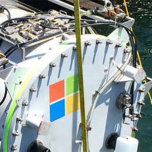 Microsoft-Rechenzentrum auf Tauchstation im Pazifik