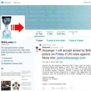 Wikileaks-Gründer Assange könnte sich stellen