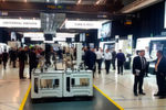 Daneben standen in Pfronten die Fertigungs- und Automationslösungen des Unternehmens im MIttelpunkt, darunter sechs neue Hightech-Maschinen aus den Bereichen Dreh-Fräs-Komplettbearbeitung, Universal-Fräsen, XXL-Großteilebearbeitung und New Technologies.