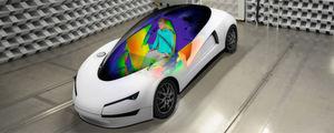 Fahrzeug-Innenräume mit Flächen heizen
