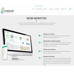 """Die Com2m-Lösung """"m2m-monitor"""" ist ab sofort im Adesso-Portfolio zu finden."""