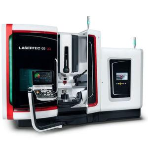 Die Lasertec 65 3D ist bereits die zweite Hybridmaschine im Angebot von DMG Mori. Die Maschine eigne sich unter anderem für die hybride Komplettherstellung von Bauteilen.