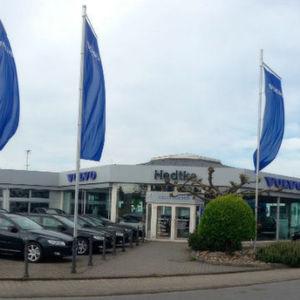 Das Autohaus Hedtke stellt das diesjährige Siegerteam des Volvo-Mannschaftswettbewerbs.