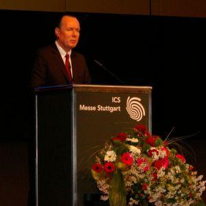 Frank Stührenberg von Phoenix Contact berichtete auf dem Nanjing Emerging Industries Development Seminar über seine Erfahrungen in der chinesischen Metropole.