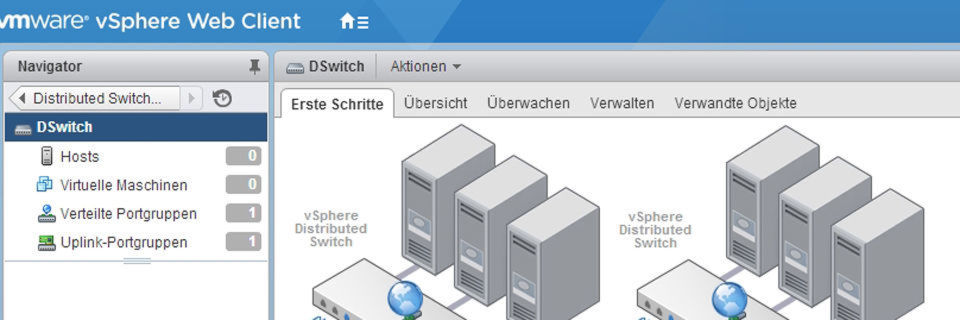 In vSphere-Umgebungen von virtuellen Standard-Switches auf Distributed-Switches migrieren: so geht's!