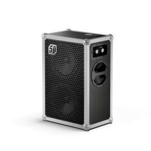 Die Soundboks erreicht mit 119 Dezibel die Lautstärke eines startenden Flugzeugs und ist darüber hinaus kompakt und wetterfest.
