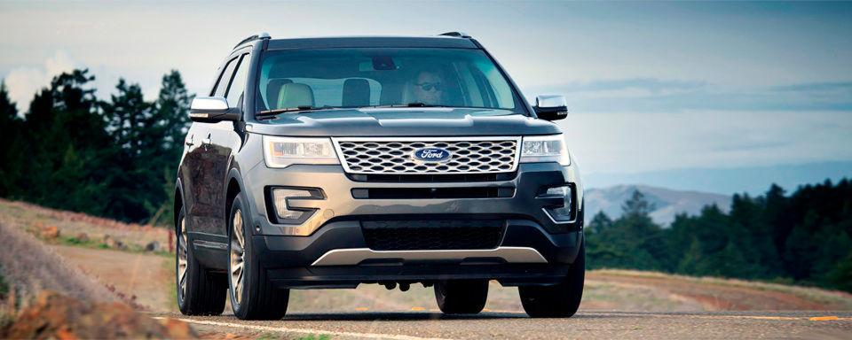 Der beliebteste Geländewagen in den USA ist der Ford Explorer. In Deutschland gibt es ihn vorerst nicht.