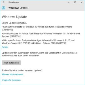 Edge-Update kommt per Windows-10-Build