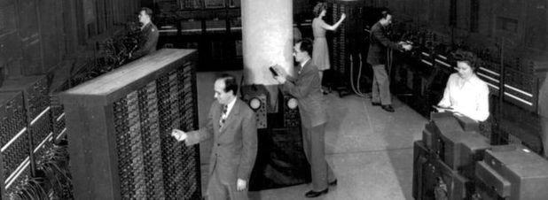 17.468 Röhren im ersten Universalcomputer der Welt