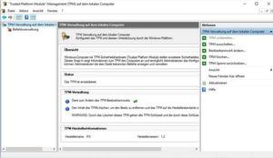 TPMs lassen sich jetzt auch dafür nutzen, sich mit Microsoft Passport an Domänen mit Windows Server 2016 anzumelden.
