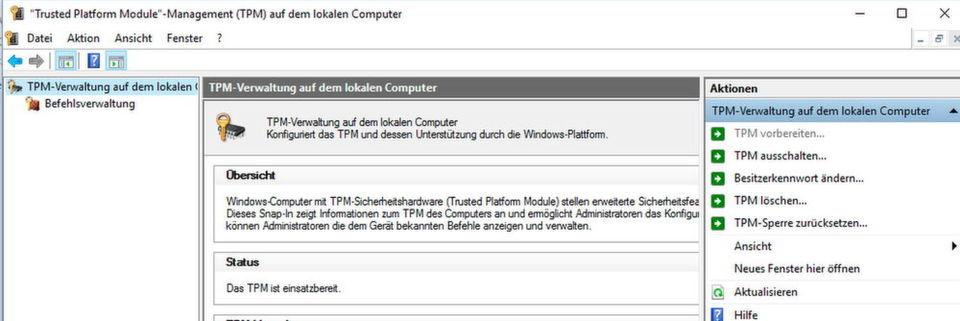"""TPMs lassen sich jetzt auch dafür nutzen, sich mit Microsoft Passport an """"Windows Server 2016""""-Domänen anzumelden."""