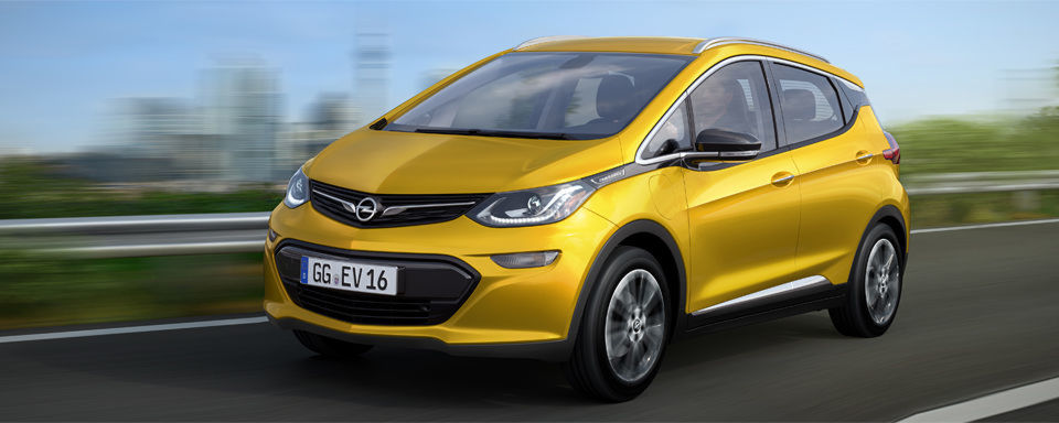 Opel bringt 2017 ein neues Elektroauto auf den Markt: den Ampera-e.