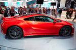 Honda hat zudem bestätigt, dass die ersten Auslieferungen des Supersportlers NSX in Europa noch im Jahr 2016 beginnen.