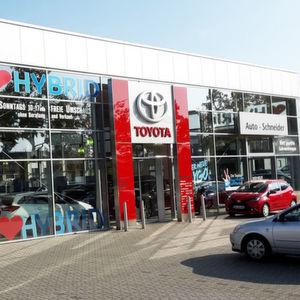 Attraktiver Neuzugang: Das Toyota-Autohaus Schneider in Darmstadt gehört ab 1. April zur Wächtersbacher Nix-Gruppe.