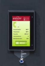 Die Sicherheitsschränke verfügen über eine Überwachungselektronik mit modernem 4,7-Zoll-Grafikdisplay mit Touch-Steuerung.