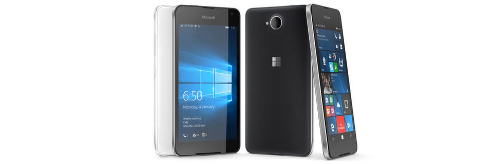 Das Microsoft Lumia 650 soll 229 Euro (UVP) kosten.