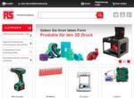 RS öffnet sich für Endkunden: RS bietet über 500.000 Produkte für Endkunden an, darunter etwa 3D-Drucker