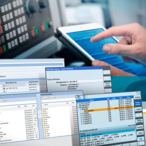 """Mit der Software-Suite """"Sinumerik Integrate for production"""" steht Maschinenherstellern und Endkunden eine Plattform für die vertikale und horizontale Vernetzung und IT-Anbindung von Werkzeugmaschinen in der Fertigung zur Verfügung."""