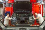 Audi setzte sich bei den Autoherstellern und -zulieferern durch.