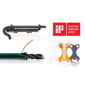 Seit 1987 erhielt Igus für insgesamt 35 Produkte den iF-Design-Award verliehen.