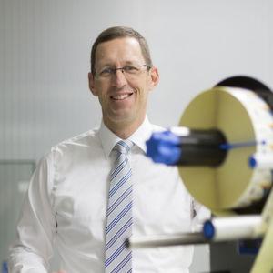 """""""Etikettiertechnologie wird in Nordamerika bei unseren bestehenden Vertriebspartnern gut nachgefragt"""", sagt Martin Kühl, Leiter des Herma Geschäftsbereichs Etikettiermaschinen."""