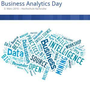 Forscher, Anwender und Berater diskutieren in Karlsruge über Business Analytics