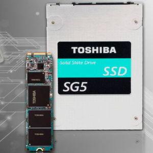 Die SG5-Serie enthält die erste Client-SATA-SSD von Toshiba mit 1 TB Speicherkapazität in einem M.2-Formfaktor.