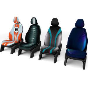 Dem Innenraum kommt im Fahrzeug der Zukunft immer mehr Bedeutung zu – als Stilelement häufig unterschätzt werden dabei die Sitze.