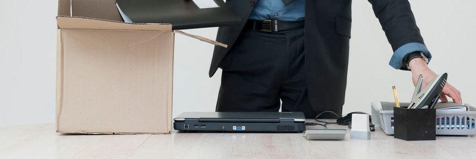 Die Mitarbeiter des Oracle-Produkt-Support müssen packen.
