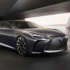 Das Lexus LF-FC Concept Car: Die Limousine mit Brennstoffzellenantrieb soll etwa 2020 in Serie gehen.