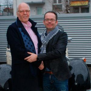 Stefan Göbel (r.) übernimmt von Claus Groepper dessen Mercedes-Benz-Servicebetrieb in Frankfurt.
