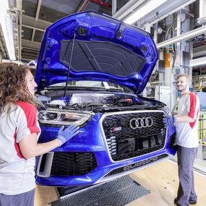 """Audi ist laut """"Focus"""" und """"Kununu"""" der Top-Arbeitgeber der Autobranche."""