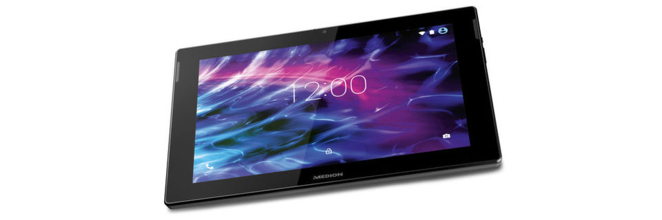 Das Lifetab S10352 ist das erste Medion-Tablet, das LTE unterstützt.