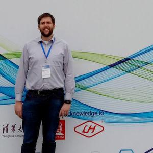 Peter Hollenbeck präsentierte auf einer internationalen Konferenz in Shanghai Ergebnisse seiner Forschungsarbeit.