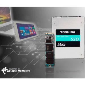Toshibas neue SSD-Reihe basiert auf TLC-NAND-Technik.