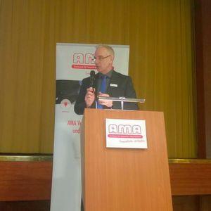 """""""Unsere Branche zeigt sich einmal mehr als Erfolgsgarant"""", Thomas Simmons, Geschäftsführer des AMA Verband für Sensorik und Messtechnik."""