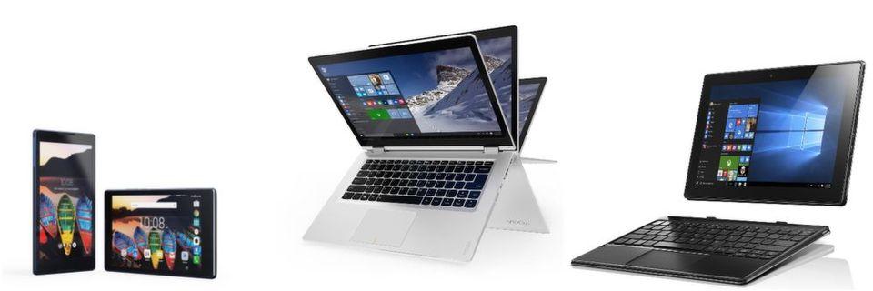 Lenovo präsentiert auf dem Mobile World Congress neben 2-in-1-Rechnern mit Windows auch zwei Familien-Tablets.