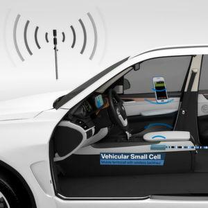 Peiker arbeitet zusammen mit BMW und einem weiteren Partner daran, Fahrzeuge zu einer Art mobilen Sendemast auszubauen.
