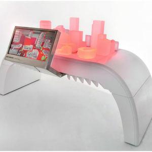 3D-Modell einer Indoor-Systemlösung.