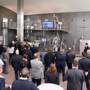 Die Eröffnung des Technology Centers mit der kontinuierlichen Produktionsanlage war das Highlight des vergangenen Jahres.