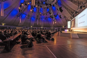 Im vergangenen Jahr waren Edward Snowden und Sarah Harrison die Stargäste. Einer von beiden war per Video-Konferenz anwesend.