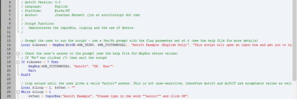 Mit AutoIT schnell und einfach skripten