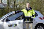 Maximilian Gruner ist als Teamleiter Sekundärtechnik Strom mit seinen Kollegen für die Auswahl der Komponenten im Bereich der Schutztechnik zuständig – die SWM haben sich für den Einsatz von Fame in allen Spannungsebenen entschieden.