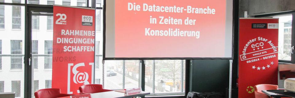 """Der Eco - Verband der Internetwirtschaft e.V. ludt zur Diskussionsrunde """"Die Datacenter-Branche in Zeiten der Konsolidierung"""""""