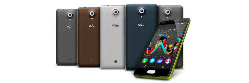 Das Smartphone U Feel von Wiko soll rund 230 Euro kosten.