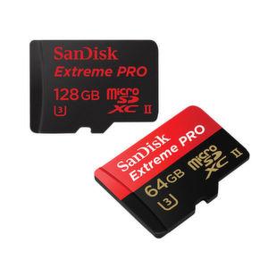 Neue SanDisk microSD-Karte mit weltweit schnellster Übertragungsgeschwindigkeit.