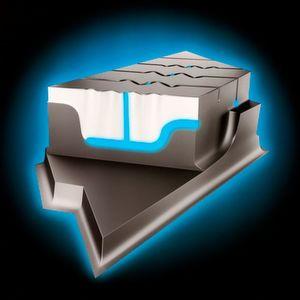3D-Effekt: Die Profilrillen des Conti TS 860 erweitern sich zu einem Kanal, der Wasser ableitet.
