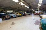 Knapp 60 Fahrzeuge hat ein Sammler auf der dänischen Insel Fünen zusammengetragen.