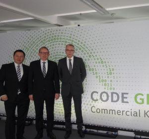 Moin Moin - das ACER Management Team ist bereit : (v. l.) Gerit Günther, Wilfried Thom und Stefan Tiefenthal.